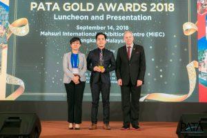 Mekong Tourism Receives 2018 PATA Gold Marketing Industry Award