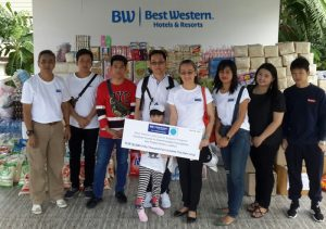"Best Western Spreads Love, Kindness Across Asia with ""Share Loving Kindness"" CSR Event"
