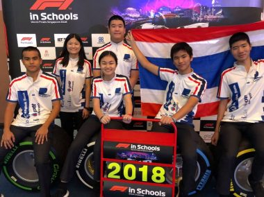 Thailand Top Asian Team in F1 in Schools World Finals