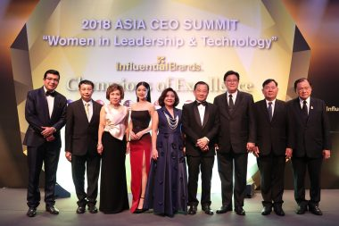 Nine Thai Influential Brands Recognized As Outstanding Brands Winners In Singapore