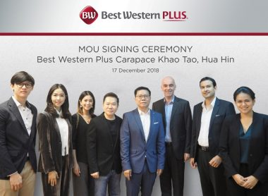 Best Western Hotels and Resorts Signs Stylish New Seafront Resort in Hua Hin