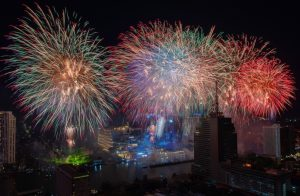 Grandest Display of Fireworks Ever Staged in Bangkok at Iconsiam