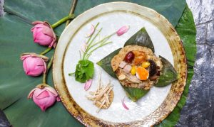 Water Lily Delights at Spice Market at Anantara Siam Bangkok Hotel