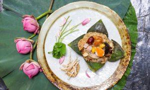 Water Lily Delights at Spice Market at Anantara Siam Bangkok Hotel