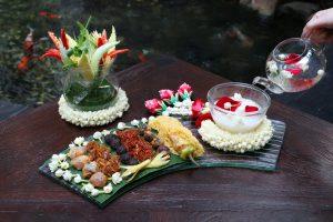 Thai Delicacy, Kaow Chae at Spice Market Anantara Siam Bangkok