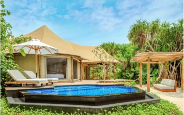 Fairmont Maldives Sirru Fen Fushi Adds Safari Jungle Tented Villas
