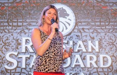 Tatiana Petrakova at Showcase Launch of Russian Standard Vodka in Asia