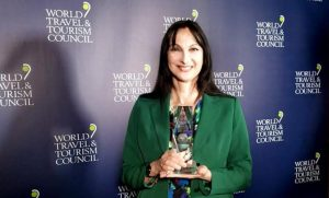 Minister Kountoura of Greece Awarded WTTC Global Champion for Tourism