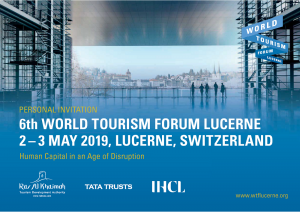 All-Star Speaker Lineup at 6th World Tourism Forum Lucerne