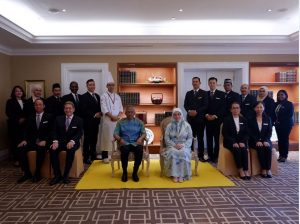 Ramada Plaza Melaka Honored to Welcome Royal Entourage