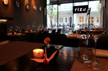 Rizu Launches New Omakase Menu in New Revamped Space - TOP25RESTAURANTS