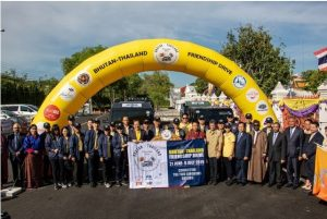 First Bhutan-Thailand Friendship Drive Sets-off on Epic Journey