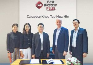 Best Western Signs Professional Services Agreement for Best Western Plus Carapace Hotel Khao Tao