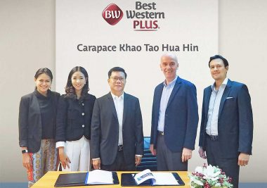 Best Western Signs Professional Services Agreement for Best Western Plus Carapace Hotel Khao Tao - TRAVELINDEX
