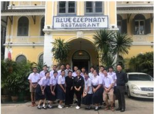Special Cooking Activity at Blue Elephant for EduDee Exchange Students