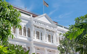 The Return of a Legend, Raffles Singapore Reopens