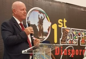 Alain St.Ange Addresses Akwaaba African Travel Market in Nigeria