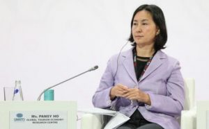 UNWTO General Assembly, in Conversation with Pansy Ho