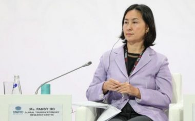 UNWTO General Assembly, in Conversation with Pansy Ho - TRAVELINDEX