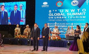 UNWTO 8th Global Urban Tourism Summit with Glittering Reception by City Mayor