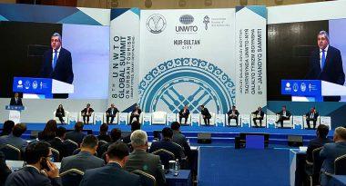 UNWTO - Zurab Pololikashvili - Global City Leaders Adopt the Nur-Sultan Declaration on Smart Cities - TRAVELINDEX
