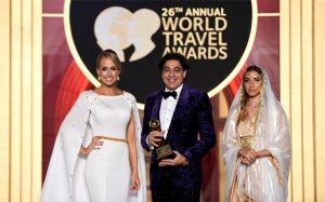 Deepak Ohri CEO of lebua Recognised as World's Leading Travel Personality