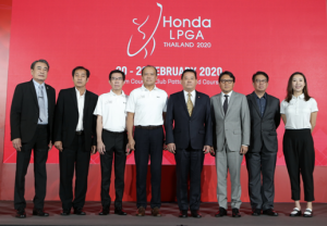 Honda LPGA Thailand Contributing to the Development of Golf in Thailand