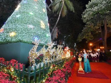 Anantara Siam Bangkok Hotel Held Christmas Tree Charity Project - TRAVELINDEX