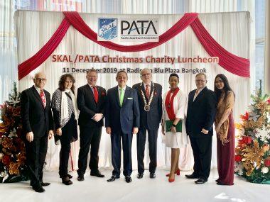 SKAL and PATA Bangkok Christmas Charity Fundraiser Hits New Heights - TRAVELINDEX