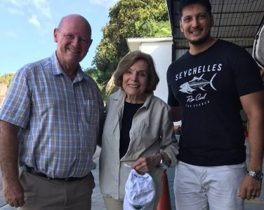 Alain St. Ange Meets Dr. Sylvia Earle, Recognised Champion for Ocean Protection - TRAVELINDEX