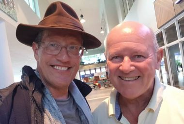 Richard Quest and Alain St Ange Discuss Vision for Seychelles - TRAVELINDEX