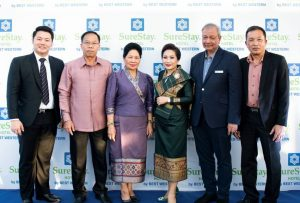 SureStay Hotel Group Celebrates the Grand Opening of First Hotel in Laos