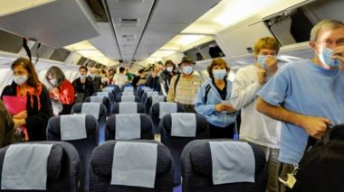 Does Airplane air spread Corona Virus - TRAVELINDEX