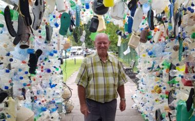 Plastic Ocean Arch in Seychelles Showcases Harsh Reality of Ocean Pollution - TRAVELINDEX