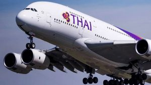 Thai Airways Cancels Temporarily All Flights
