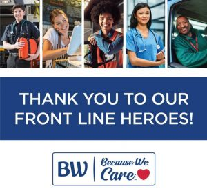 Best Western Hotels and Resorts Launched Support Campaign for Front Line Heroes