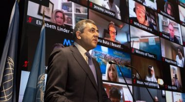 Zurab Pololikashvili - UNWTO Recognizes World's Best Innovators Facing Up To COVID-19 - TRAVELINDEX