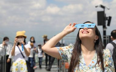 King Power Mahanakhon Partners with Thai Astronomical Society to view Partial Solar Eclipse - TRAVELINDEX