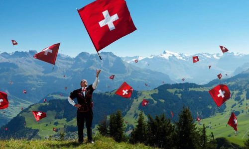 Switzerland Celebrates Swiss National Day