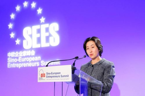 Secretary-General of GTEF, Pansy Ho Gives Keynote at 2020 Sino-European Entrepreneurs Summit