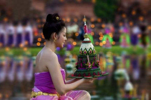 Thailand Celebrates Loi Krathong Festival 2020 in New Normal