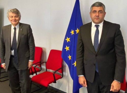 UNWTO Delegation in Brussels for Talks with European Leaders