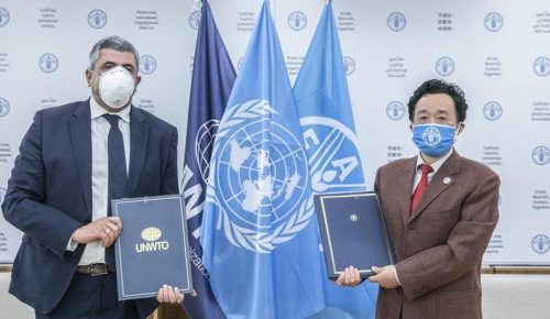 UNWTO and FAO to Work Together Developing Tourism for Rural Development