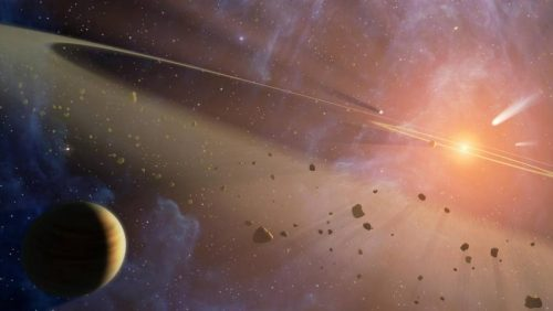 Asteroids Provide Sustainable Resource