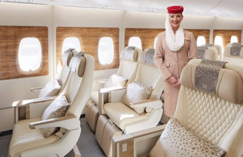 Emirates Airlines Unveils New Premium Economy in A380