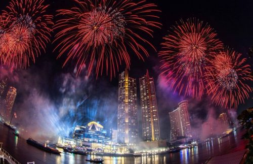 ICONSIAM Bangkok Rings in New Year with Most Dramatic Eco-Friendly Firework - TRAVELINDEX