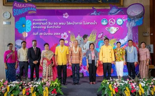 Thailand Celebrates Songkran Festival 2021 in New Normal