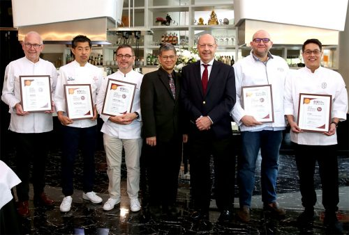 Bangkok Top Chefs Take Centre Stage at Top 25 Restaurants Awards Certificates Presentation