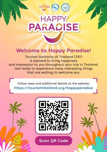 Happy Paradise - TAT - Tourism Authority of Thailand
